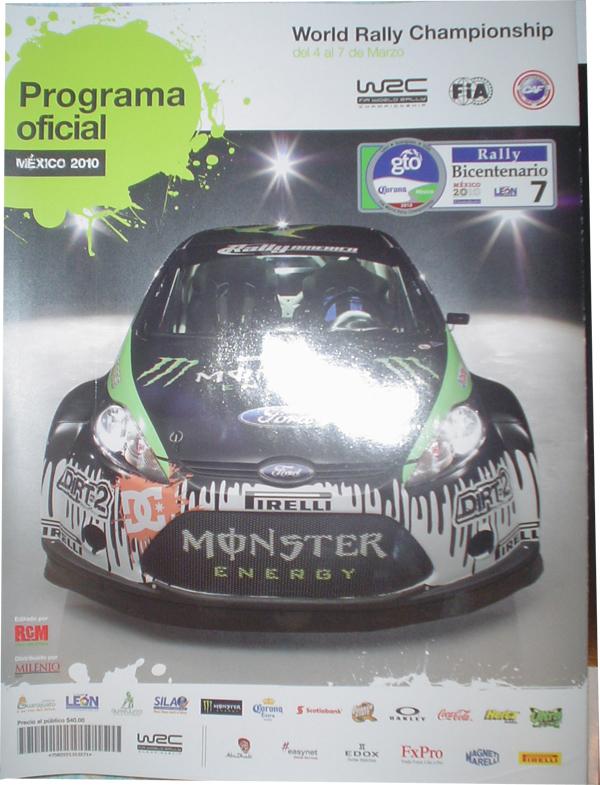 Programa Rally Mexico 2010