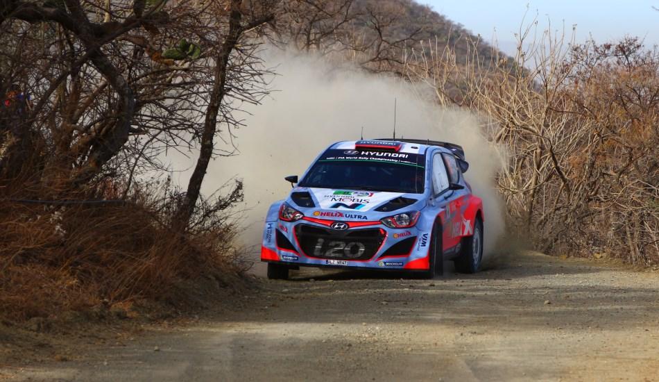 Hyundia I20 WRC