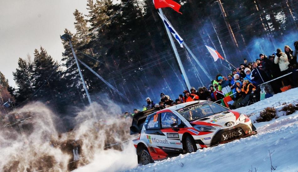 Rally Suecia 2017 Jari-Matti Latvala